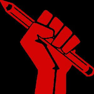 fist pencil